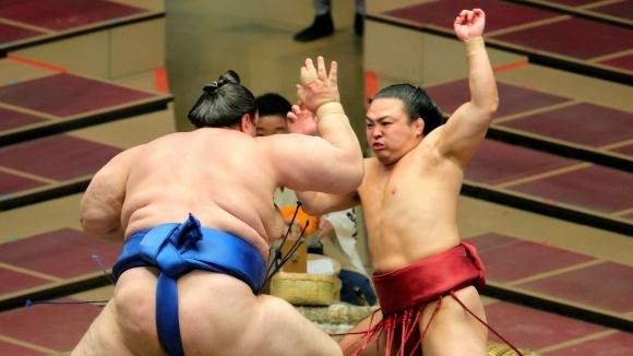 Аоияма допусна нова загуба на турнира по сумо в Токио