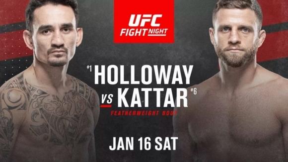 Макс Халоуей срещу Калвин Кейтър на 16 януари