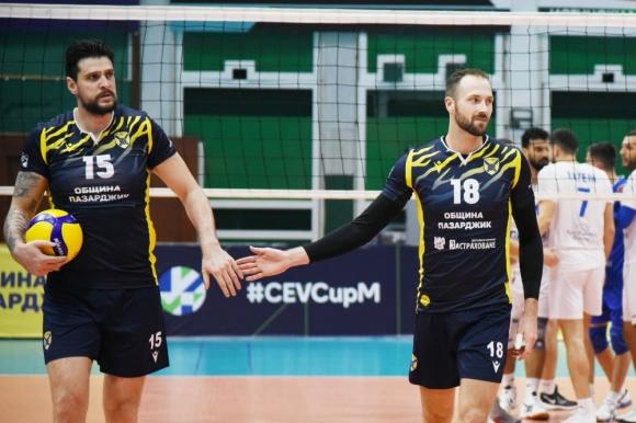 Пазарджик ще e домакин на 1/8-финали и 1/4-финали на Купата на CEV