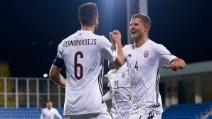 Латвия удари голям пердах на Андора (видео)