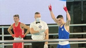 Красимир Джуров загуби на финала в категория на Европейското по бокс