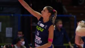 Елица Василева с 14 точки, Казалмаджоре отново на победния път
