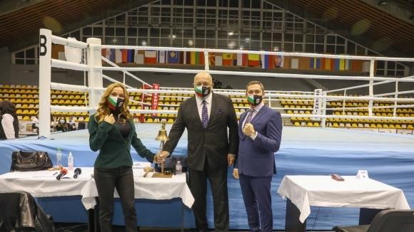 Министър Кралев откри ЕП по бокс в София