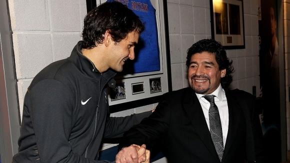 Диего Марадона и тенисът – едно приятелство за вечността