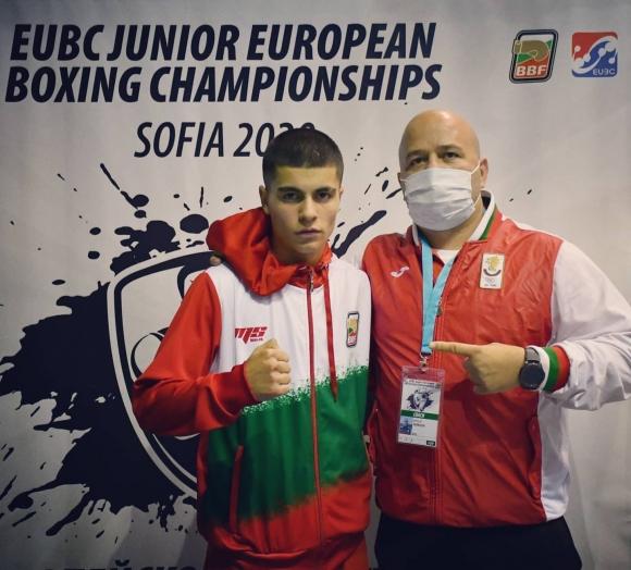 Медал и за Любослав Методиев от европейското по бокс...