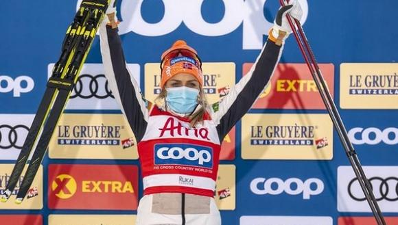 Терезе Йохауг спечели на 10 км класически стил в Рука (видео)