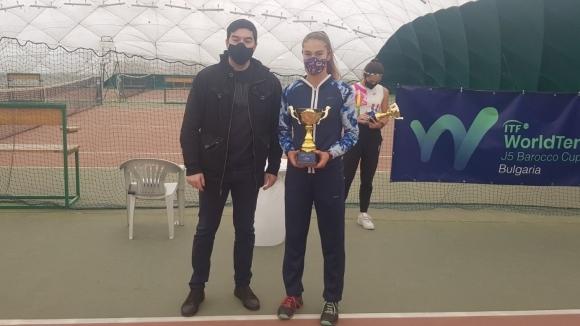 Йоана Константинова спечели турнир на ITF до 18 години...