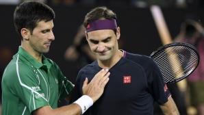 Джокович подобрява рекорда на Федерер по брой седмици на върха