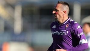 Фиорентина без Рибери срещу Милан