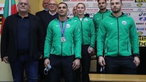 БФДжудо връчи парични награди  за представянето на Европейското първенство