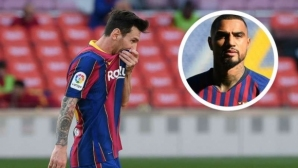 Боатенг: Меси ме накара да си помисля за оттегляне от футбола