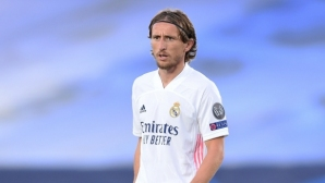 Модрич иска да играе в Реал до края на кариерата си