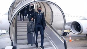Лудогорец пристигна в Лондон