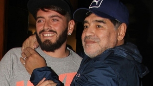 Синът на Марадона също е в болница
