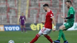 Натирен от ЦСКА-София се похвали с нов отбор
