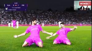 Пирин елиминира Славия в баражите за топ 14 на WINBET е-футбол лига