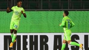 Волфсбург срази Вердер в голово шоу (видео)