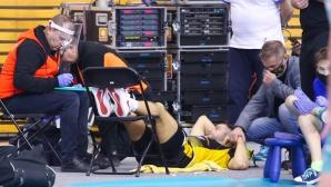 Световният шампион Гжегож Ломач загуби съзнание по време на мача Варшава – СКРА Белхатов