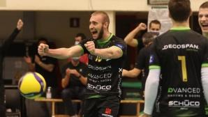 Трифон Ласков с 18 точки при труден успех на Менен