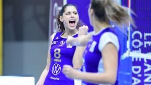 Ева Янева с 13 точки, Льо Кане с трета победа във Франция (видео)
