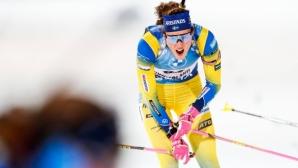 Хана Йоберг спечели спринта в Контиолахти, Милена Тодорова завърши на 49-о място