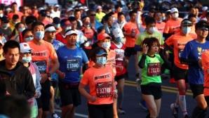 В Шанхай се проведе маратон при строги ограничения заради COVID-19