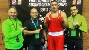 Кирил Борисов е на полуфинал при най-тежките
