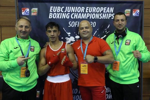 Тони Сотиров се класира за финала на Европейското по...