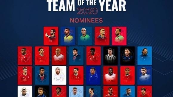 УЕФА обяви номинираните за Отбор на годината, всеки...