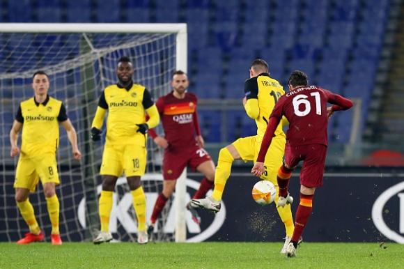 Калафиори след страхотния дебютен гол за Рома: Това е...