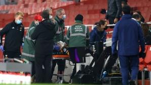 Раул Хименес е със счупен череп, претърпял е операция