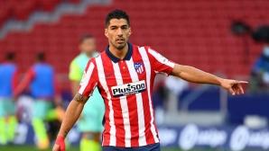 Луис Суарес е готов да се върне към тренировките на Атлетико, ако даде негативен тест