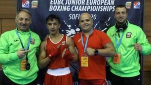 Тони Сотиров се класира за финала на Европейското по бокс до 16 години