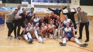 Гергана Димитрова и Мария Йорданова запазиха първото място в Румъния (видео)