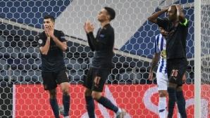 """Порто спря победната серия на Ман Сити, но въпреки това """"гражданите"""" спечелиха първото място (видео)"""