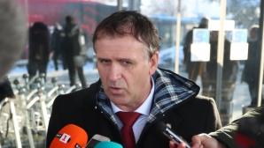 Акрапович: Трябва да спечелим и точки, и пари в Румъния (видео+галерия)