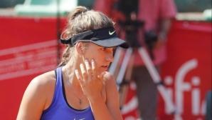 Гергана Топалова отпадна в първия кръг в Анталия