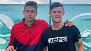 Лазаров и Донски се класираха за 1/4-финалите на двойки в Анталия