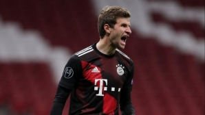 Томас Мюлер в топ 10 на Шампионската лига