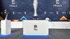 Изтеглиха жребия за финалите в Лигата на нациите