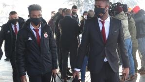 Лудогорец и ЦСКА-София се засякоха на летището