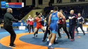 Борци се сбиха по време на турнир в Русия (видео)