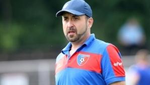 Владимир Димитров: Проспахме първото полувреме, класата реши мача