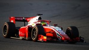 Шумахер с една ръка върху титлата след 7-мо място в Бахрейн, Цунода с трета победа