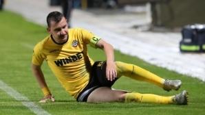 Тошко Неделев на линия за мача с ЦСКА-София