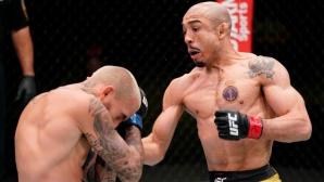 Жозе Алдо надви Марлон Вера и се върна към победите в UFC (видео)