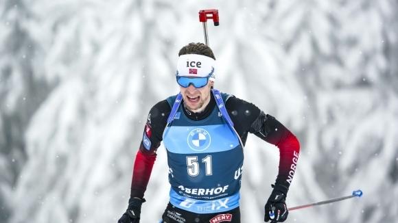 Въпреки лошата стрелба, нова норвежка хегемония в мъжкия биатлон, Илиев остана 28-ми