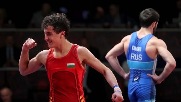 Назарян отново на финал, Даниел Александров в спор за бронза
