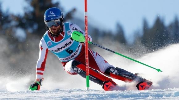 Австриец с първа победа в слалом за СК по ски