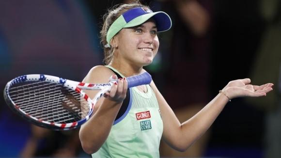 София Кенин отпадна на 1/4-финалите в Абу Даби